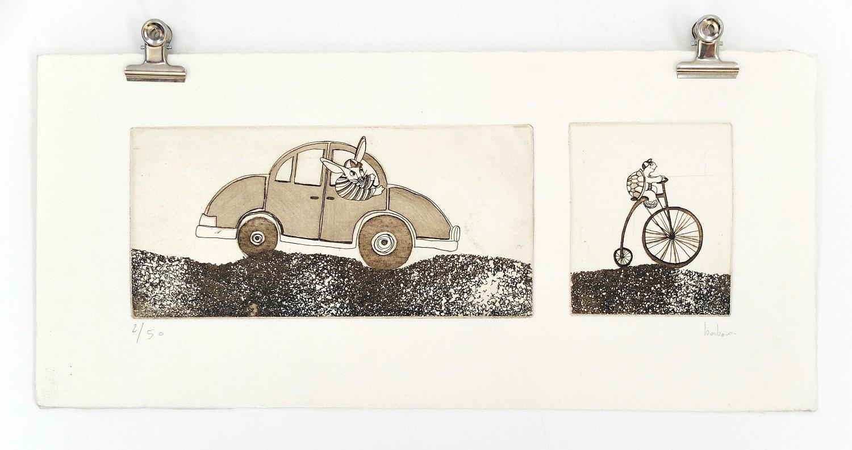 ref-G-014-2014-rr | ref-G-014-2014,<br/>Gravure  imprimée en sépia - Format 18 x 38 cm<br/> Prix de vente 45€ + 5€ de frais d'expédition