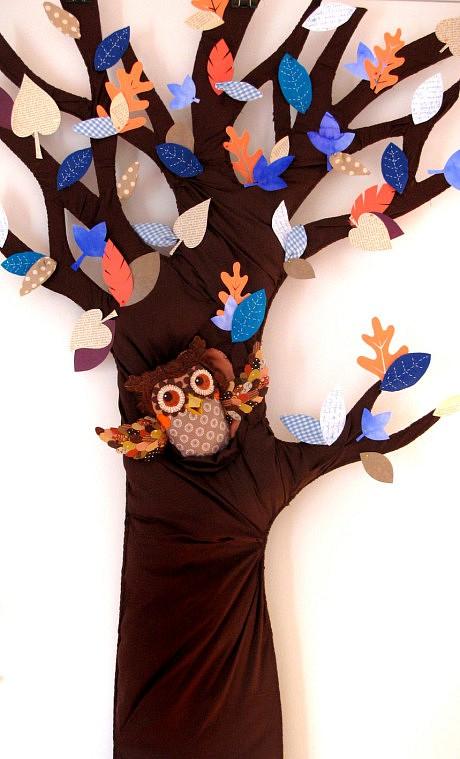 Hibou-essai arbre